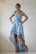 Платье с ассиметрией