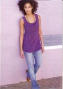 Фиолетовая туника