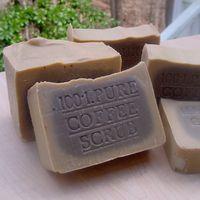 Кофейное мыло-скраб