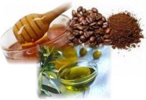 Кофейно-медовый скраб для лица