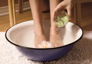 перекись водорода для ног от натоптышей