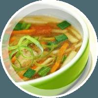 Яблочный суп с репой