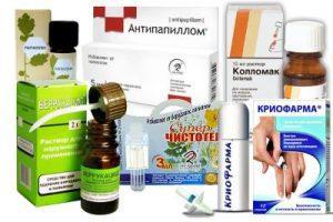 средства от бородавок и папиллом в аптеке
